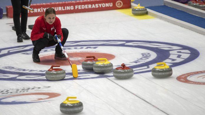 Curling: Türkiye-Kazakistan 10-4