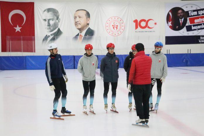 Short Track Milli Takım Kampı, Samsun'da devam ediyor