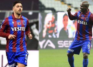Trabzonspor'da gözler Bakasetas ve Nwakaeme'de