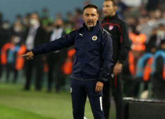 Trabzonspor-Fenerbahçe maçında Vitor Pereira'dan saha içine not!