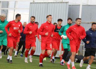Sivasspor'da Adana Demirspor mesaisi başladı