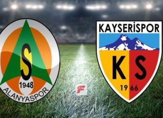 Alanyaspor – Kayserispor maçı (CANLI)