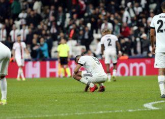 Beşiktaş, Avrupa'da kötü günler geçiriyor