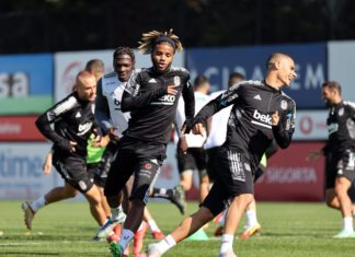 Beşiktaş, Galatasaray maçının hazırlıklarına devam etti