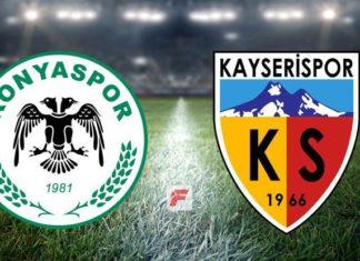 Konyaspor – Kayserispor maçı hangi kanalda, saat kaçta?