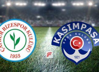 Çaykur Rizespor – Kasımpaşa maçı hangi kanalda, saat kaçta?