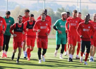 Sivasspor, Adana Demirspor maçı hazırlıklarını sürdürdü