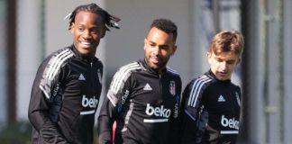 Beşiktaş'ta Galatasaray derbisinin hazırlıkları devam ediyor