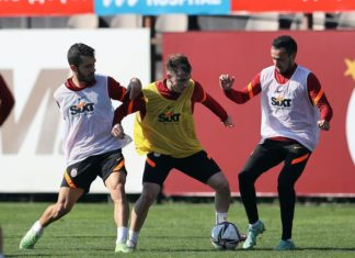 Galatasaray, Beşiktaş derbisinin hazırlıklarına başladı