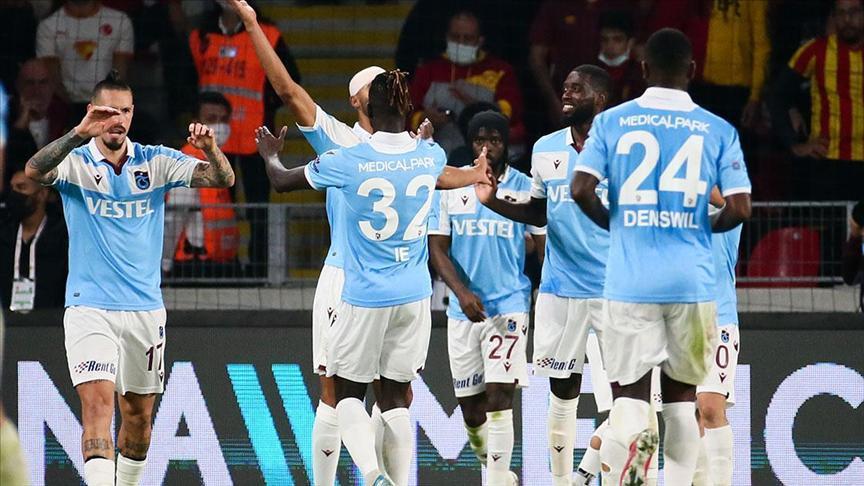 Trabzonspor, namağlup unvanını 22 maça çıkardı