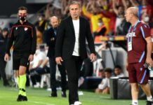 Trabzonspor'da Abdullah Avcı'dan taraftara çağrı